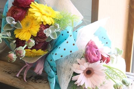 ご希望に添った花束.アレンジお作りします...!_d0227610_00215475.jpg