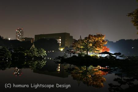 「下町秋の夜灯り」 清澄庭園 / 紅葉_f0322812_23255735.jpg