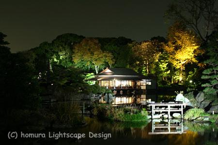 「下町秋の夜灯り」 清澄庭園 / 紅葉_f0322812_23255799.jpg