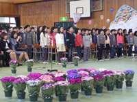 卒業生69名が呉服小学校を巣立ちました。おめでとう♦♫♦・*:..。♦♫♦*゚¨゚゚・*:..。♦_c0133422_2030624.jpg