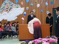 卒業生69名が呉服小学校を巣立ちました。おめでとう♦♫♦・*:..。♦♫♦*゚¨゚゚・*:..。♦_c0133422_20382983.jpg