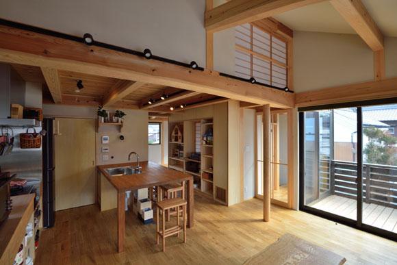 住まい手さんのお宅見学会「2階リビングキッチンに家族が集う家」_e0164563_14543786.jpg