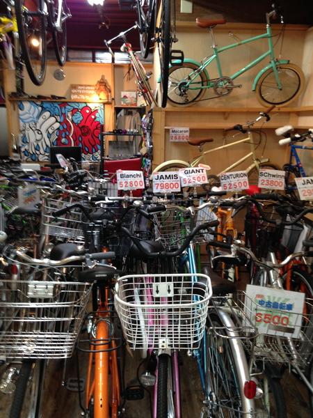 自転車の ブリジストン 自転車 24インチ アルミ : この作業してると、少し寂しく ...