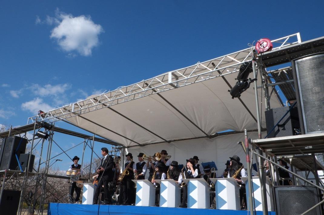 第9回 夜梅祭 野外コンサート <6> BLUE BEGINNERS 2014・03・15_e0143883_2028577.jpg