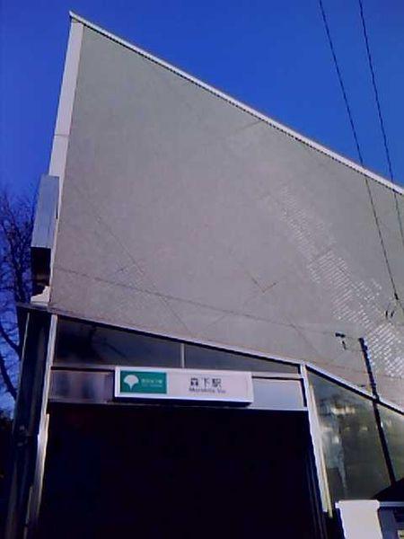 大江戸線森下駅_f0322193_11271654.jpg
