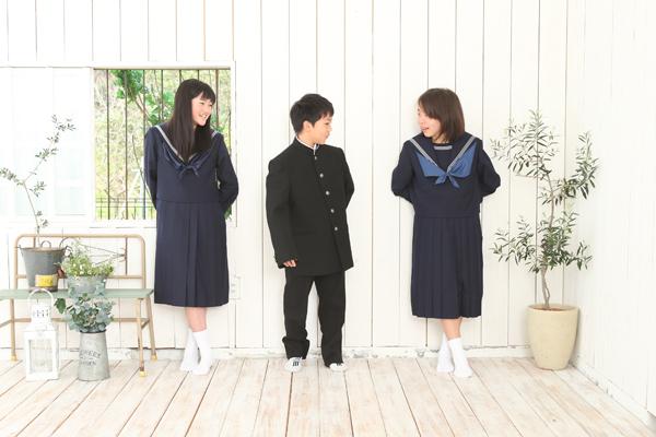 中学入学記念のお写真_b0193602_1146034.jpg