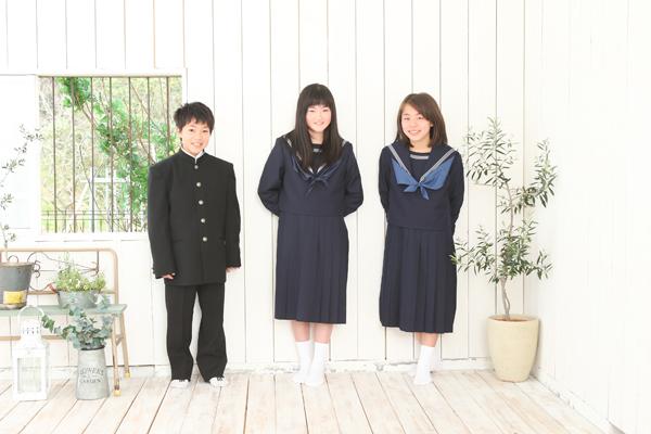 中学入学記念のお写真_b0193602_1146154.jpg
