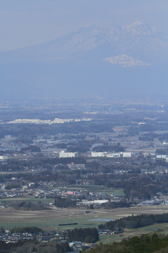 那須の山を望んで走る - 2014年早春・真岡 -   _b0190710_2244733.jpg