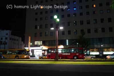 鹿児島中央駅~鹿児島駅周辺のライトアップ_f0322812_0252779.jpg