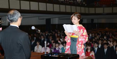 2013年度NSC合同卒業式が行われました。_b0110019_1724434.jpg