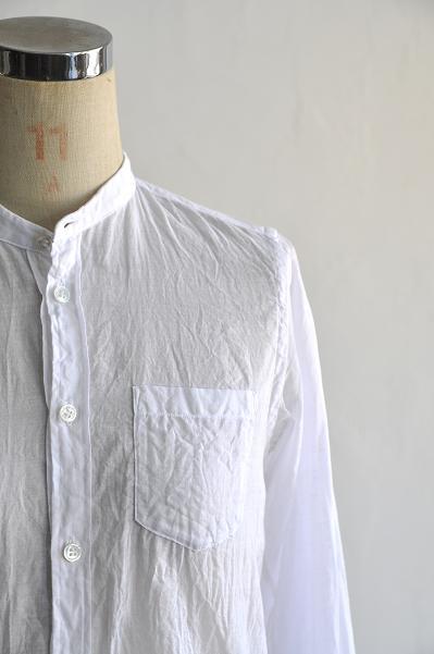 ゴーシュ ライトカディー スタンドカラー シャツ