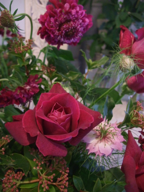 オークリーフ花の教室(甘艸さんと大草さんの作品)_f0049672_1845342.jpg