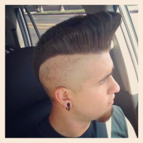 Psychobilly Hairstyle Men Life style creation for men's