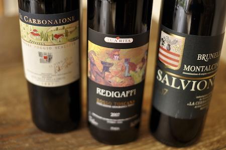 4周年記念 トスカーナの偉大なワインをグラスで_a0112221_19281964.jpg