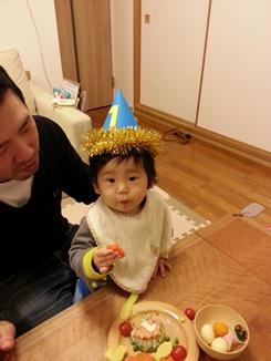 息子が一歳になりました!_e0122770_16242789.jpg