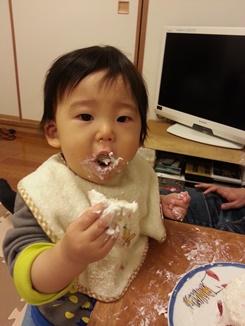 息子が一歳になりました!_e0122770_16251621.jpg