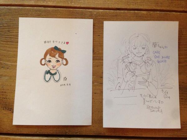 田村セツコさんと大石蘭さん_c0192615_9592056.jpg