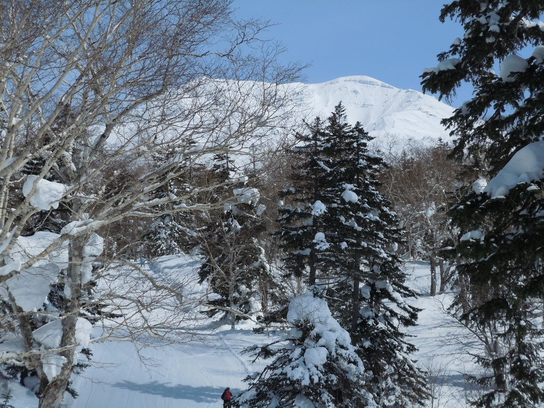 "2014年3月 『早春の大雪旭岳』 march, 2014 ""Mt Taisetsu Asahidake, Ski in the spring\""_c0219616_1942886.jpg"