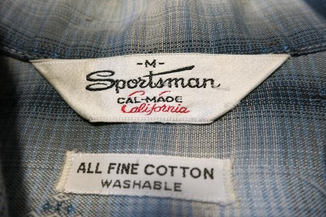 3/22(土)入荷!60'S SPORTSMAN オンブレーシャツ!_c0144020_2344942.jpg