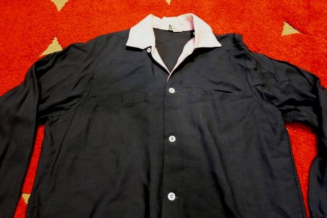 3/22(土)入荷! レア!50'S~黒×ピンク the continental レーヨン シャツ!_c0144020_2393044.jpg