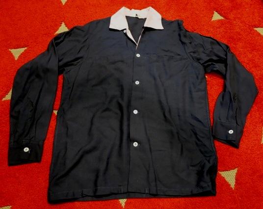 3/22(土)入荷! レア!50'S~黒×ピンク the continental レーヨン シャツ!_c0144020_2393260.jpg