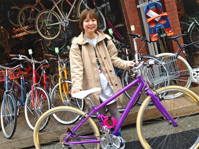 ☆今日のバイシクルガール5本立て☆ 自転車 女子 おしゃれ_b0212032_215901.jpg