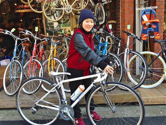 ☆今日のバイシクルガール5本立て☆ 自転車 女子 おしゃれ_b0212032_21591060.jpg
