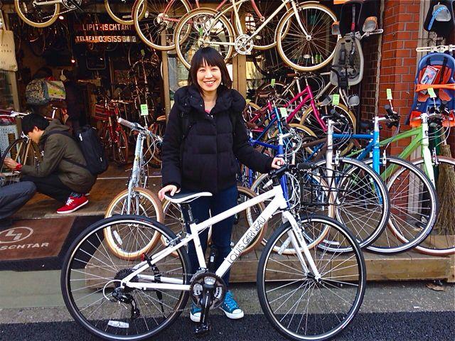 ☆今日のバイシクルガール5本立て☆ 自転車 女子 おしゃれ_b0212032_21594186.jpg