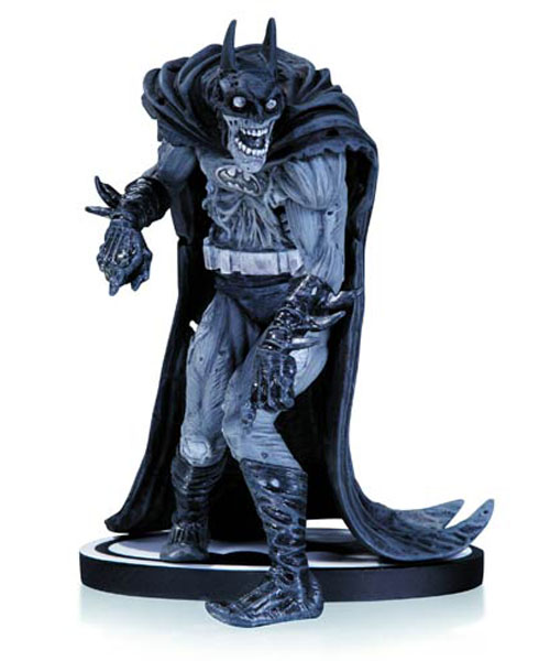 Black and White Zombie Batman Statue_e0118156_16104355.jpg