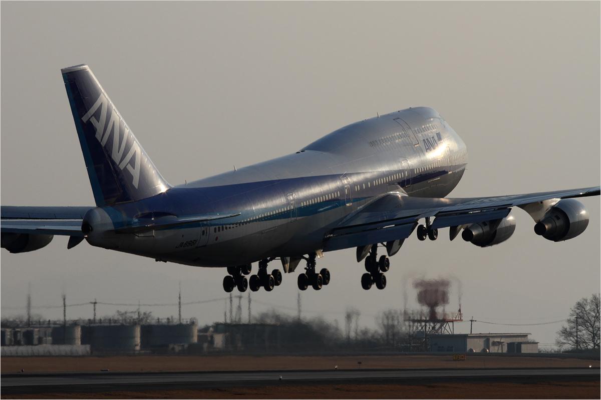 ANA 747 さよならフライト / 2 - 熊本空港_c0308259_2423250.jpg