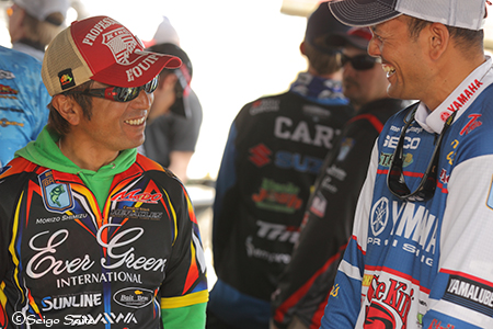 Bassmaster Elite Series #2 St. Johns River, FL 初日_a0097491_805836.jpg
