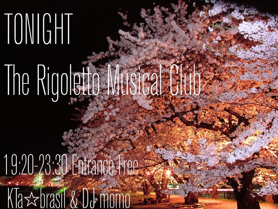 EverySAT19:30:23:30▶LATIN DJ Series♬ at THE RIGOLETTO OCEAN CLUB横浜☆今夜は@Groovemomo をお迎え☆_b0032617_162964.jpg