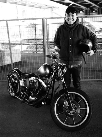 たまき かおる & Harley-Davidson FLH(2014 0315)_f0203027_1552247.jpg
