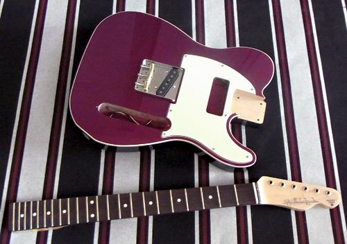 「Redish Purple Mica MetaのStandard-T」の塗装完了!_e0053731_17294958.jpg