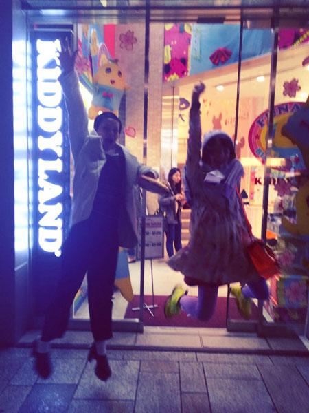 ふたたび東京へ avec manon n°3 夜会_a0262845_1323301.jpg