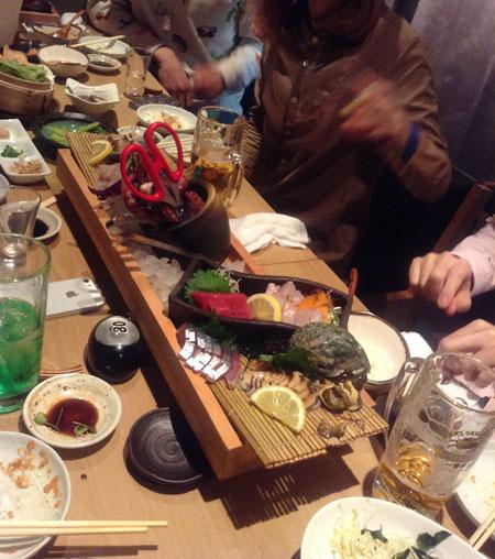 ふたたび東京へ avec manon n°3 夜会_a0262845_1340085.jpg