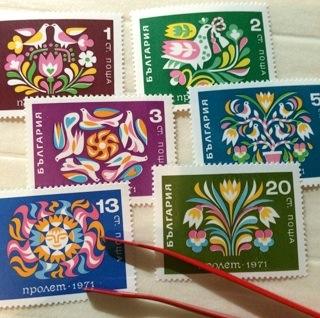 春の花切手(ブルガリア、チェコスロヴァキア、共に1971年)_b0087556_19255170.jpg