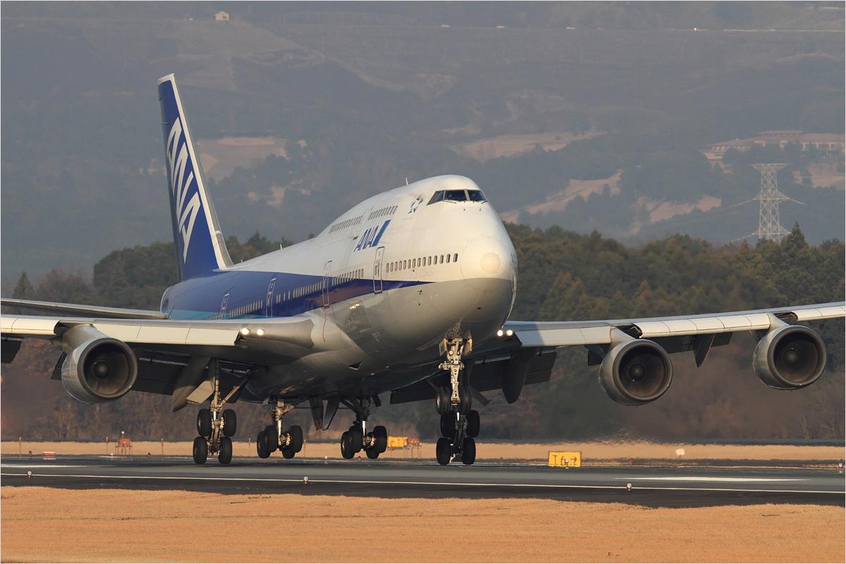 ANA 747 さよならフライト / 3 - 熊本空港_c0308259_034257.jpg