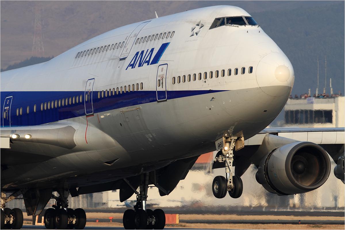 ANA 747 さよならフライト / 3 - 熊本空港_c0308259_035763.jpg
