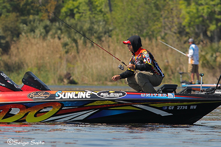 Bassmaster Elite Series #2 St Johns River, FL  2日目_a0097491_8142194.jpg