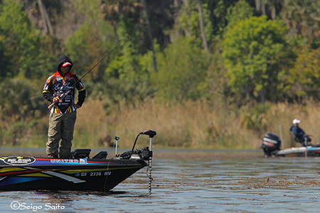 Bassmaster Elite Series #2 St Johns River, FL  2日目_a0097491_815497.jpg