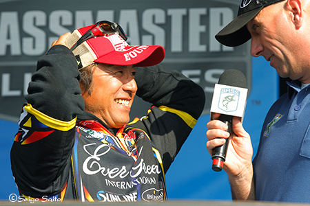 Bassmaster Elite Series #2 St Johns River, FL  2日目_a0097491_8174788.jpg