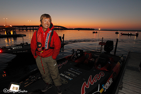Bassmaster Elite Series #2 St Johns River, FL  2日目_a0097491_85663.jpg