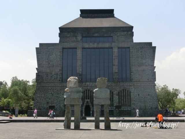 ディエゴリベラの溶岩博物館 Museo Anahuacali_a0254243_844288.jpg