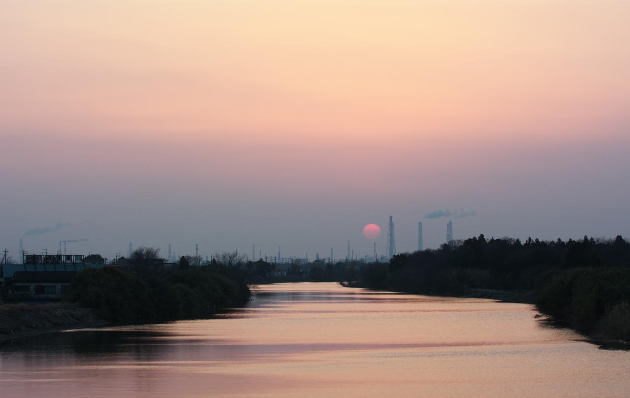 市原の夕景 1_f0018464_20521959.jpg