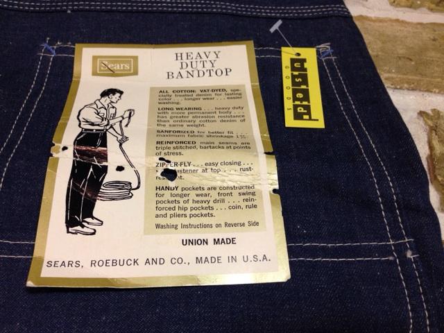 神戸店3/26(水)MidWestヴィンテージ入荷!#1 DeadStock DoubleKnee Denim Painter Pants!!!(T.W.)_c0078587_1514916.jpg