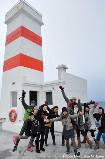 アイスランド・エアウエイブス2013(最終)ムームの灯台にリーチ!夕食後はリハスタへ!_c0003620_431420.jpg