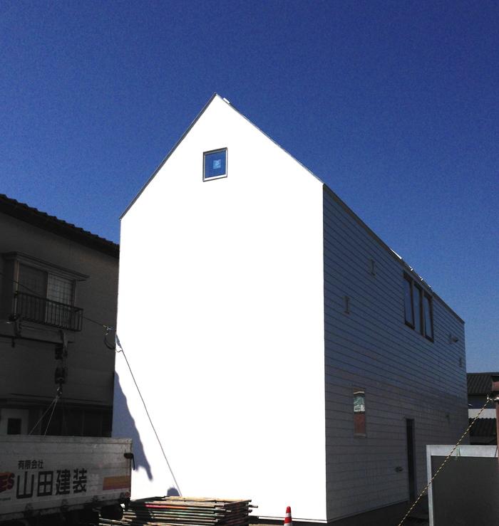 漆喰壁のファサード 完成!!_e0189939_228775.jpg