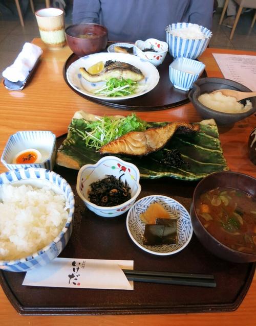 お料理 いけだ『炭火焼き定食・魚』 @佐久 _f0236260_2223251.jpg
