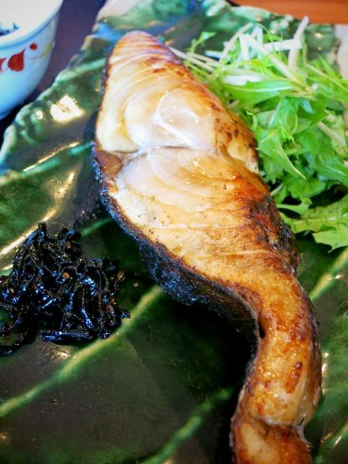 お料理 いけだ『炭火焼き定食・魚』 @佐久 _f0236260_22453126.jpg